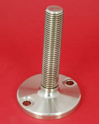 Adjustable Levelling feet - 24mm diam. stem Heavy Duty 7000kg