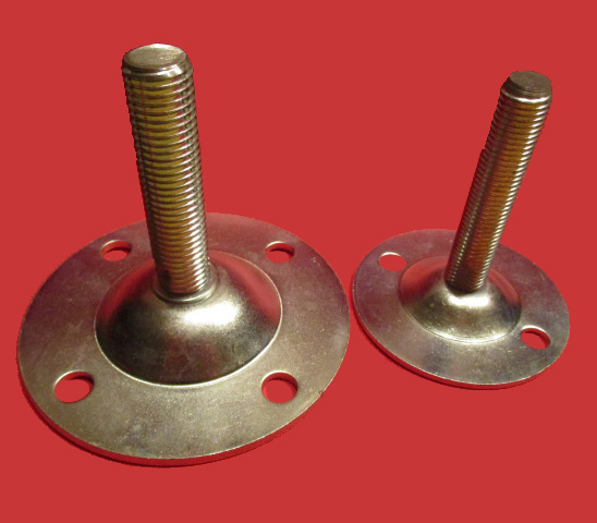 Adjustable foot - mild steel press steel